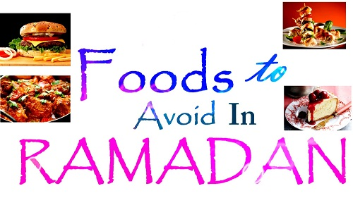 the foods you should during ramadan