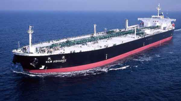 A Chinese oil tanker