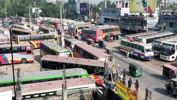 Tangail bus stand