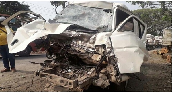 Road accident pic